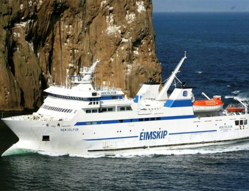 The ferry to Vestmannaeyjar